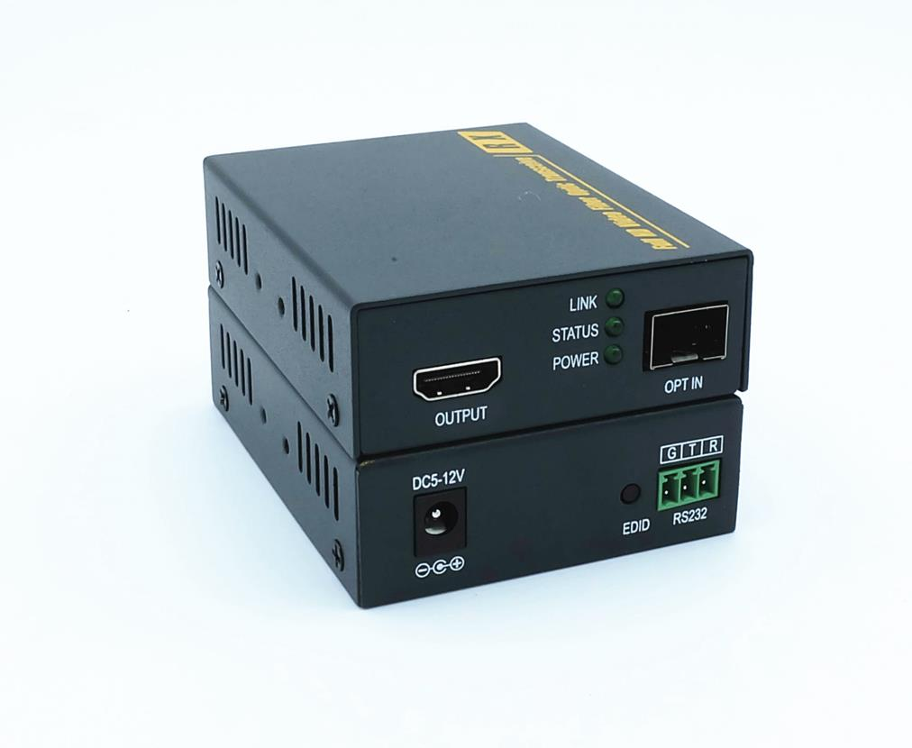 HDMI 4K Fiber Optic Extender with RS232